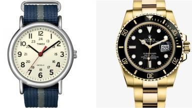 Timex vs. Rolex