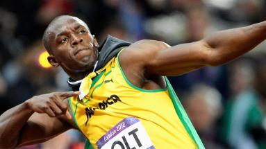 Usain Bolt Victory Pose