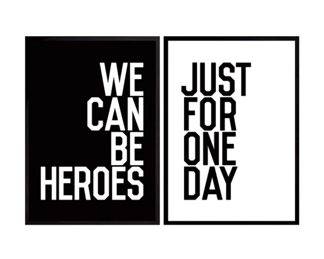 David Bowie was right - we can all be heroes.