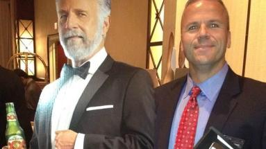 Me with the Worlds most interesting man