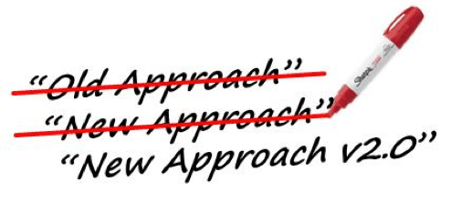 Three steps to making your new approach stick