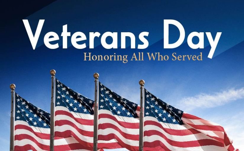 Veteran's Day 2017 – A Special Ceremony