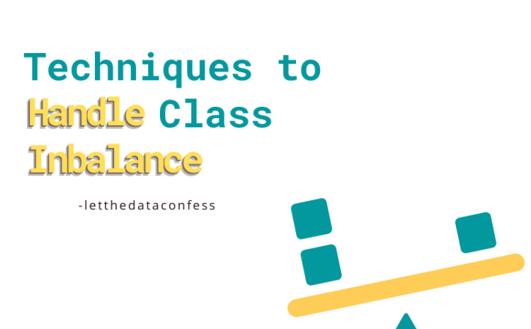 Techniques to handle class imbalance