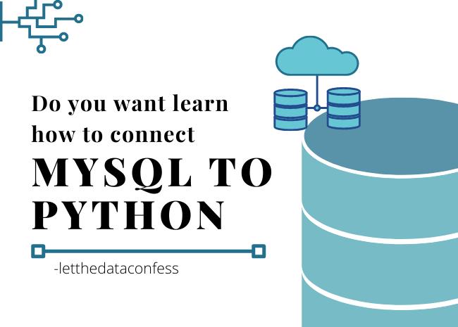 Connect MqSQL to Python