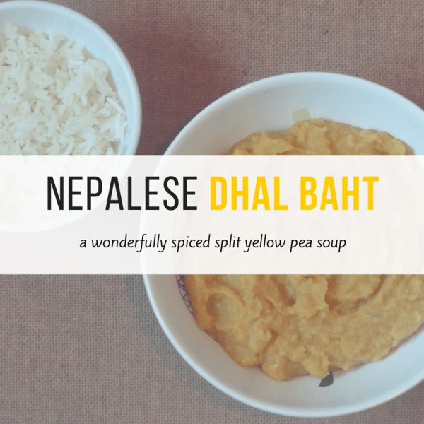 Nepalese dhal baht