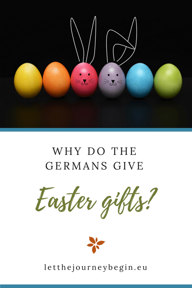 Why do Germans give Easter gifts? This tradition makes no sense to me so I set out to investigate why the Easter bunny is taking up competition with Nikolaus and Father Christmas.