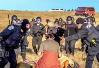 Militarized Police Arrest Over 100 People At Standing Rock