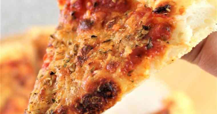 AMAZING Gluten Free Pizza Crust