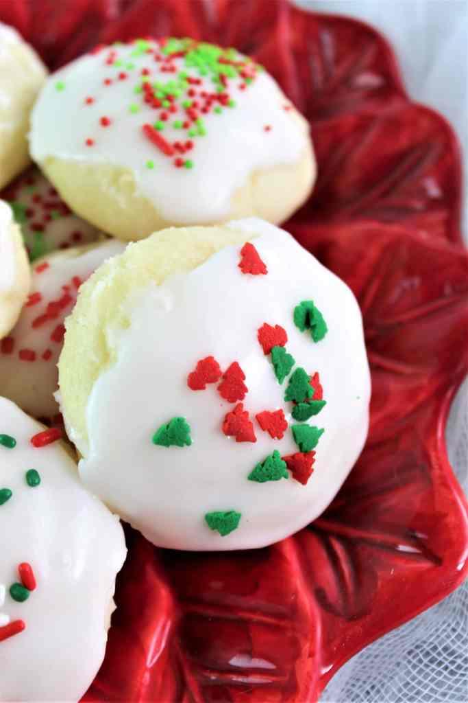 gluten free ricotta cookies