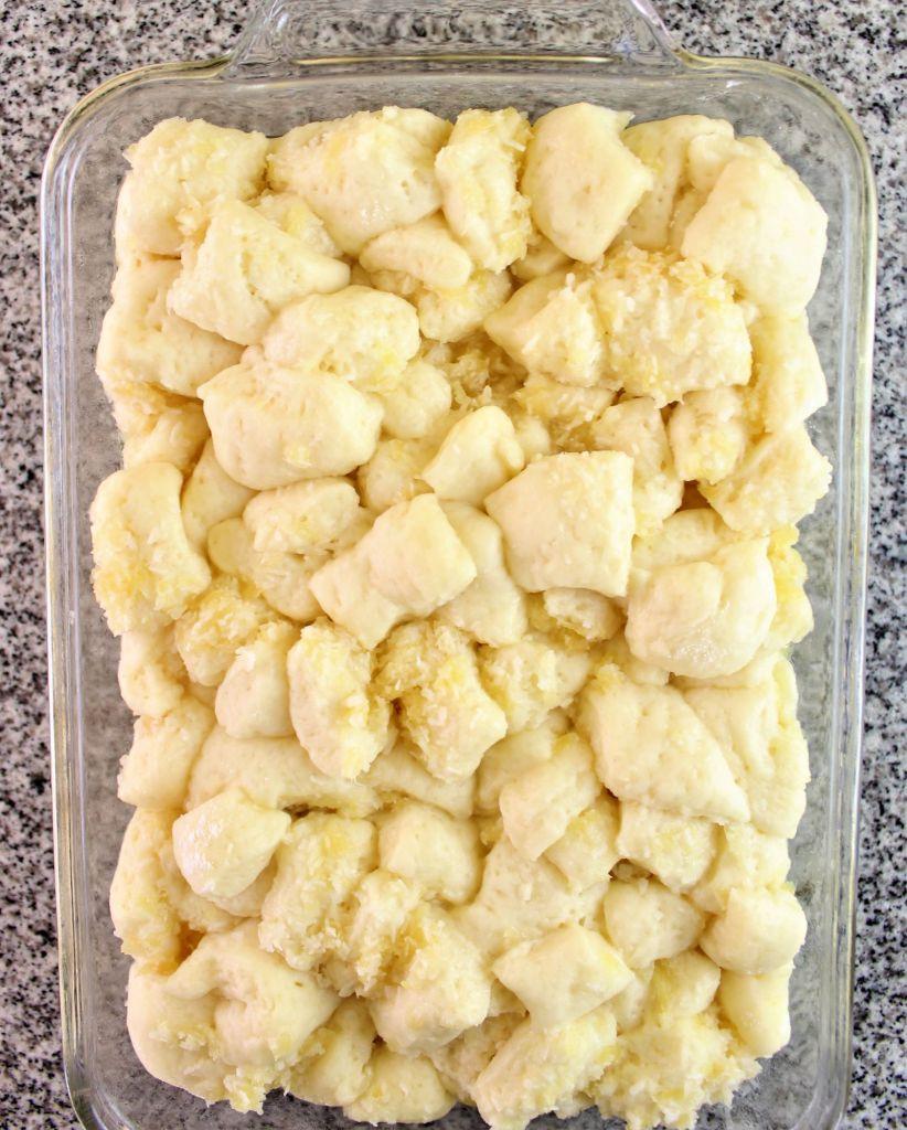 dough after it's risen