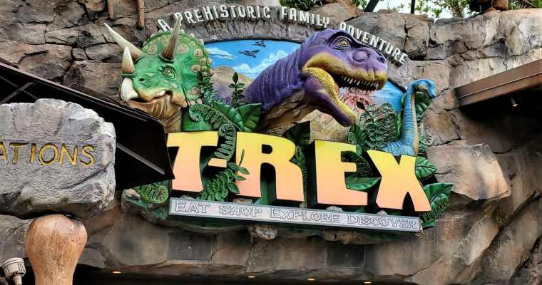 T-Rex Cafe Gluten Free Dinner Review