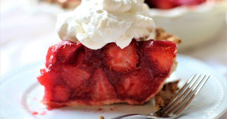 Easy Gluten Free Fresh Strawberry Pie