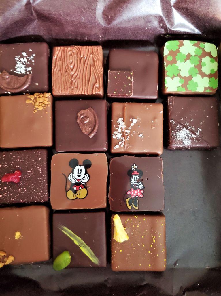 chocolates from the ganachery at disney springs