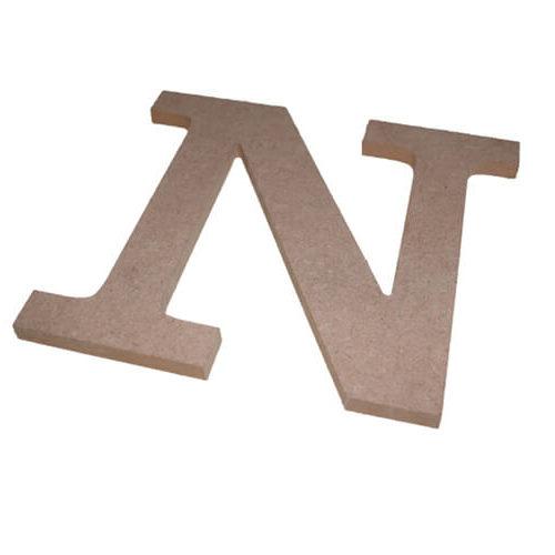 Lettre découpée bois contreplaqué  - Matériaux de découpe numérique