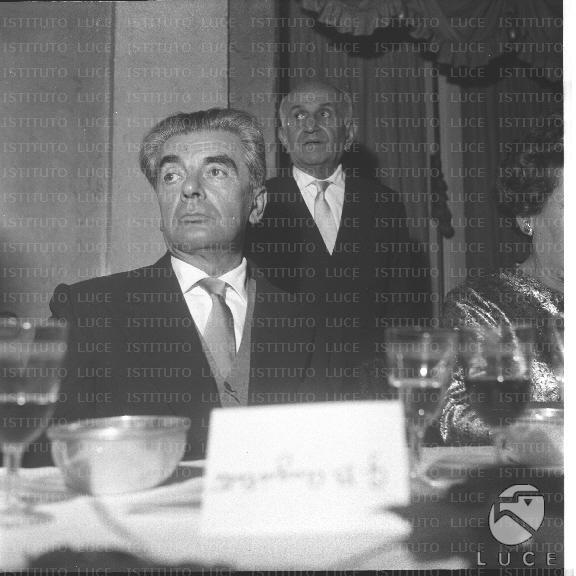 Giovan Battista Angioletti autore de La memoria 3° premio strega della storia del premio
