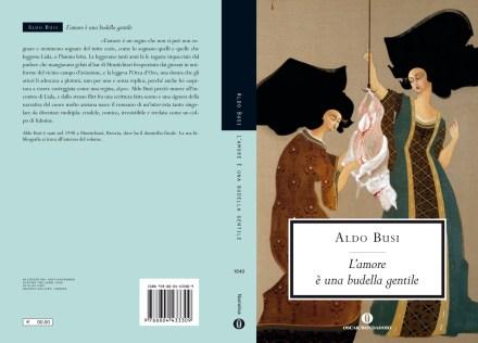 La copertina di L'amore è una budella gentile di Aldo Busi