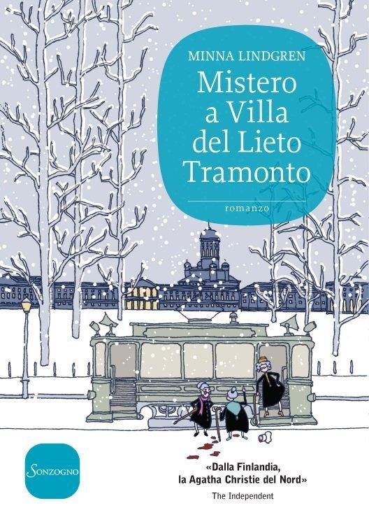 """La cover di """"Mistero a Villa del Lieto Tramonto"""" di Minna Lindgreen"""