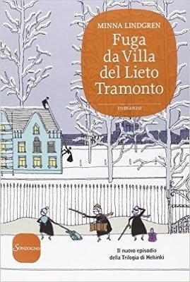copertina del libro ci Minna Lingreen Fuga da Villa del Lieto Tramonto