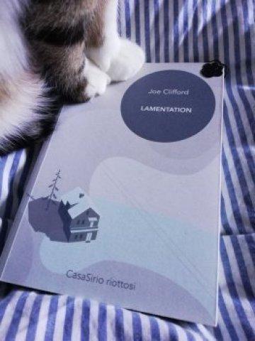 """""""Lamentation"""" Immagine del libro di CasaSirio"""