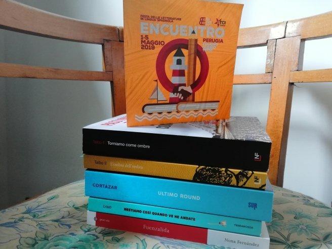 Ricordi di Encuentro 2019: il programma e i libri comprati alla bellissima libreria Mannaggia