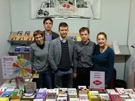 Editori, i Las Vegas e scrittori tra cui Cristina Brondoni