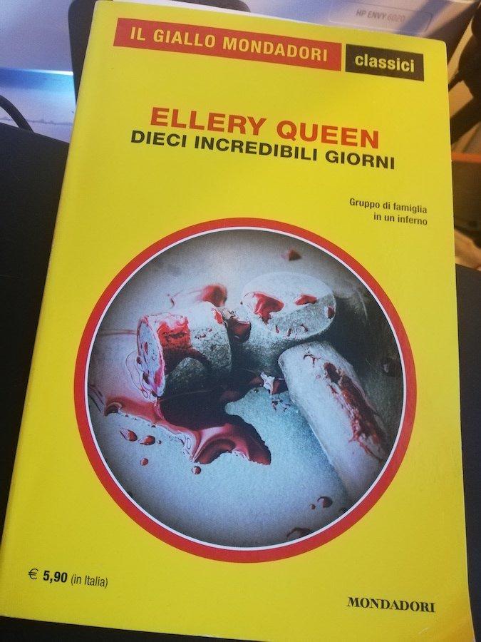 Un classico dei gialli, il libri di Ellery Queen