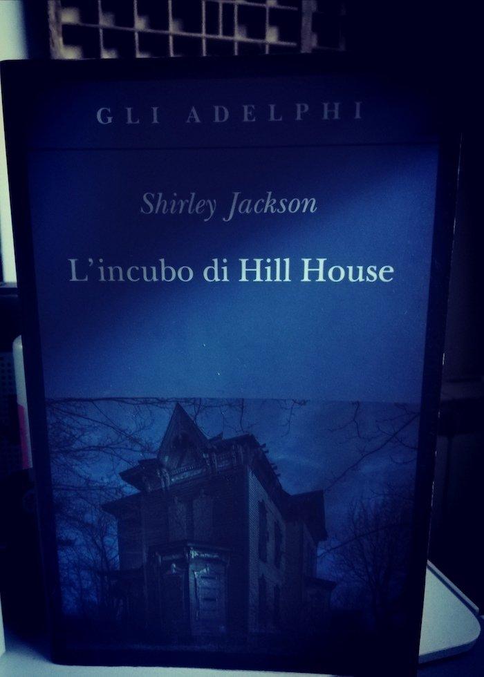 La straordinaria cover de L'incubo di Hill House dell'edizione Adelphi