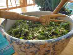 Kale and Quinoa Salad–Mind your Ks and Qs