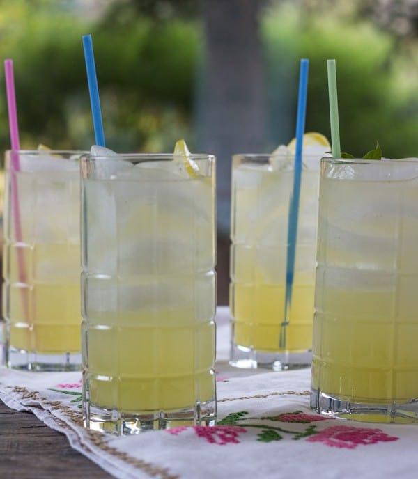 Lemon Basil Lemonade | Letty's Kitchen
