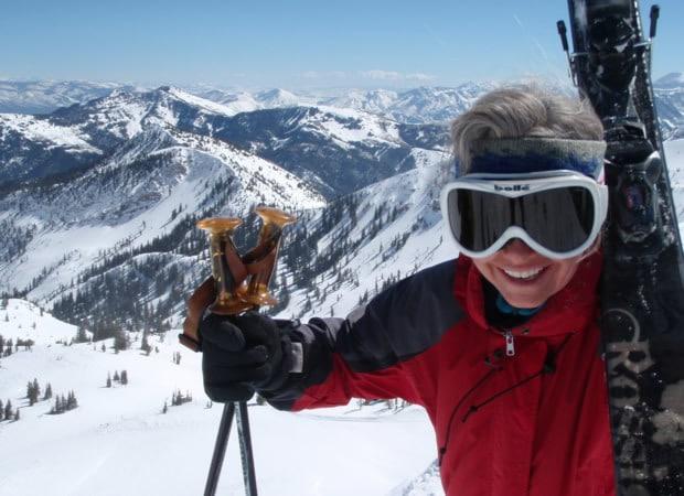 About me ski photo