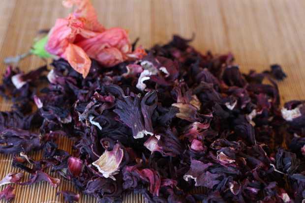 dried hibiscus flowers for Hibiscus Margaritas
