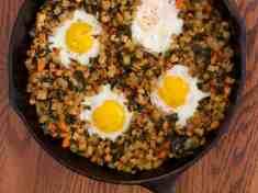 Kale, Tempeh and Potato Hash