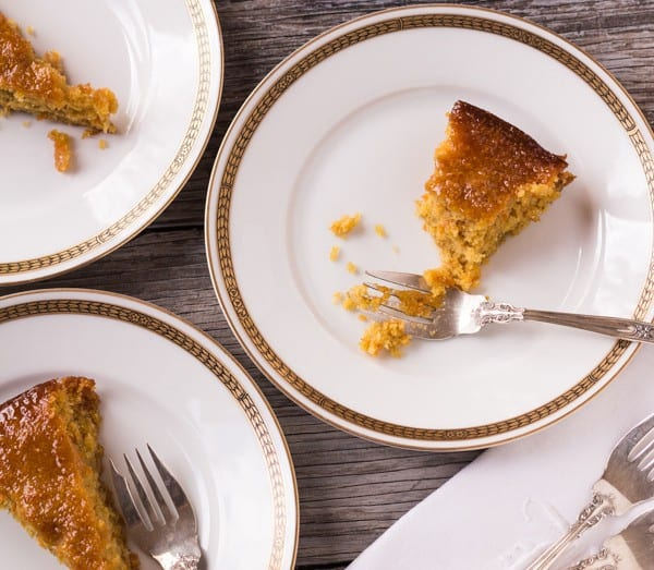 Gluten-free Orange Almond Honey Cake