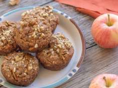 Apple Cinnamon Quinoa Muffins {gluten-free and vegan}