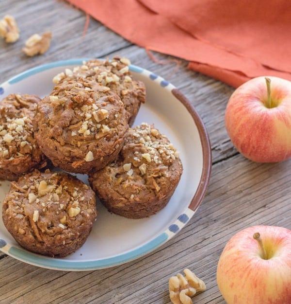 Apple Cinnamon Quinoa Muffins