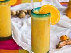 Healthy Tangerine Julius Smoothie {vegan}
