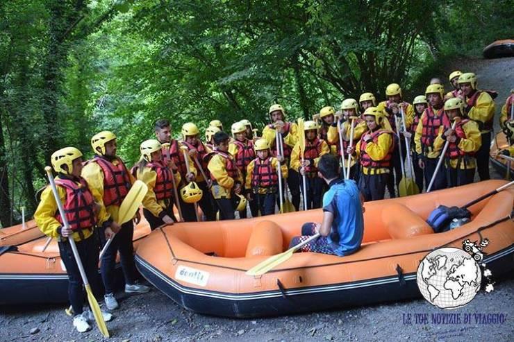 Rafting Calabria Fiume Lao