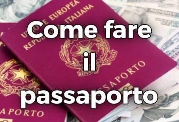 passaporto elettronico italiano