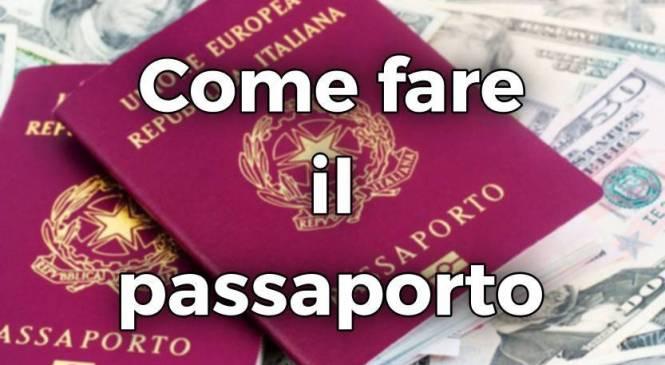 Come fare il passaporto in Italia?