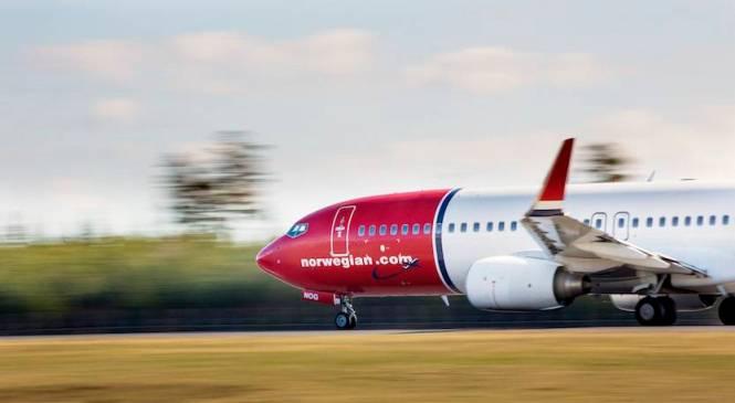 La Norwegian decolla per gli Stati Uniti