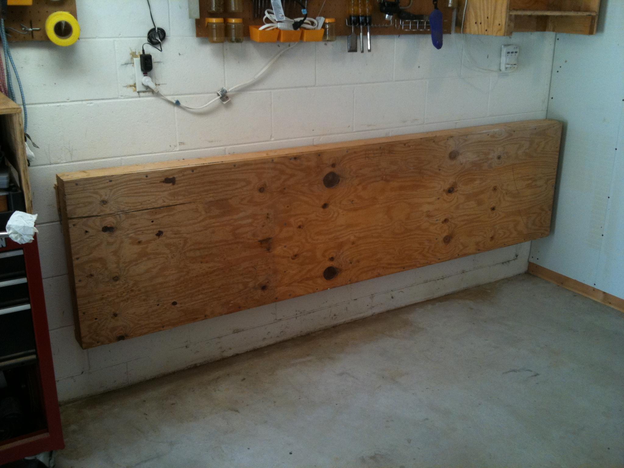 diy folding workbench plans