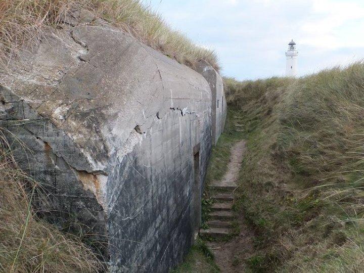 Bunkercomplex bij Hirtshals.