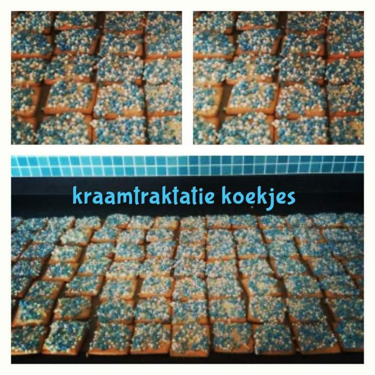 Traktaties met kids: een recept voor makkelijke kraamtraktatie koekjes