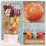 Smoothies van fruit en/of groente als vitamineboost voor kleine groenteweigeraars