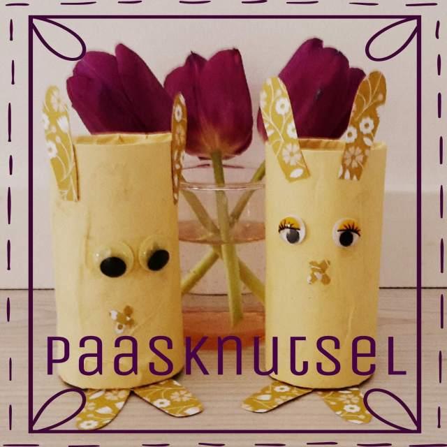 Knutselen voor Pasen: de leukste ideeën, wc rol paashaas. Toilet paper easter bunny