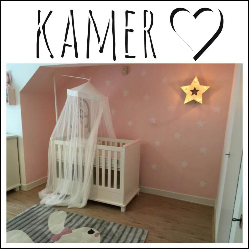 Binnenkijker: de babykamer van Fiona & Robert, roze kinderkamer dieren
