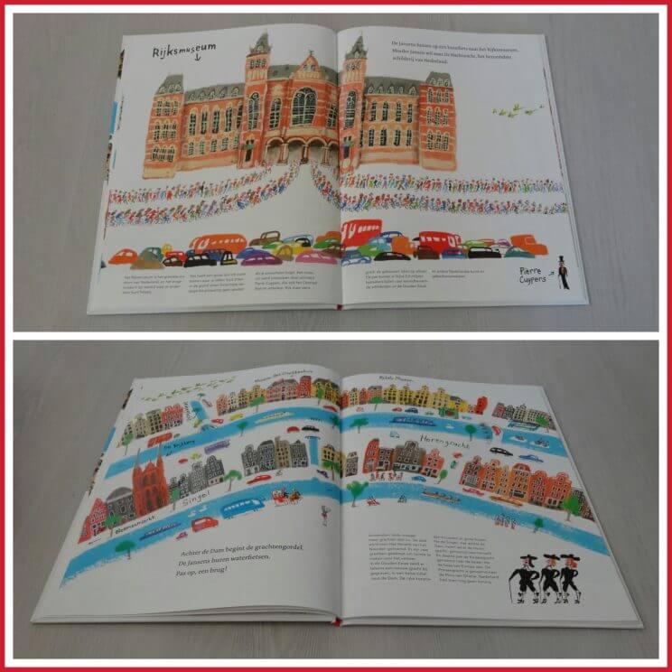 Boekentips Amsterdam een verhalenboek en een kleurboek om de stad te beleven