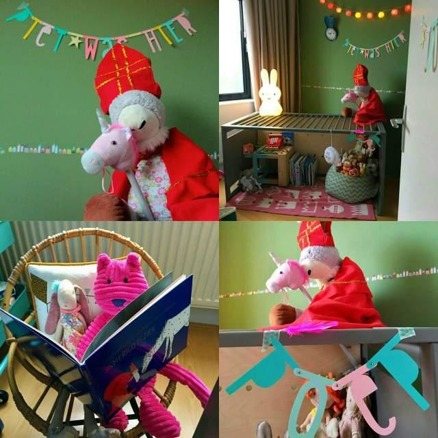 Sinterklaas verrassing: Sint en Piet waren hier