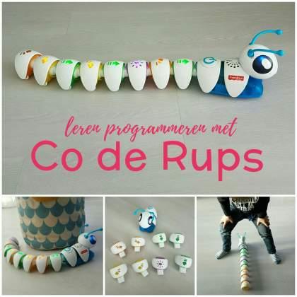verjaardag cadeau ideeën voor een kleuter - leren programmeren met de Co-de-Rups