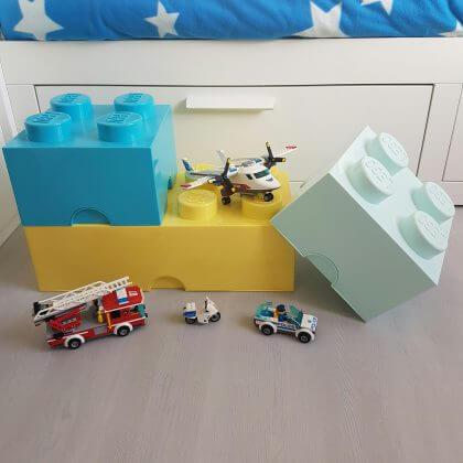 LEGO cadeau ideeën: onze tips voor kinderen van alle leeftijden - opbergdozen voor de kinderkamer